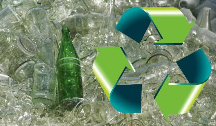 Vidrio reciclado